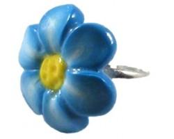 Inel Flor de Turquesa